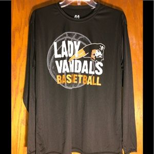 A4 Lady Vandals Basketball Jersey Size L